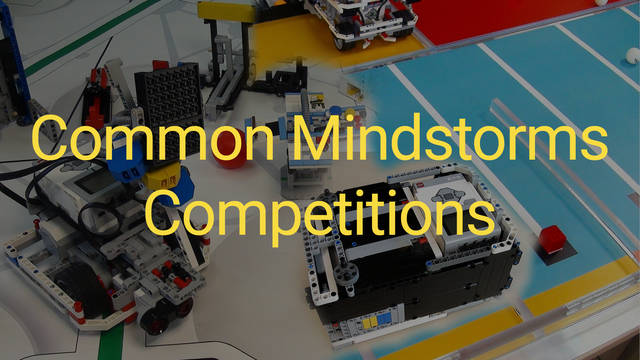 Image for Common Mindstorms Competitions