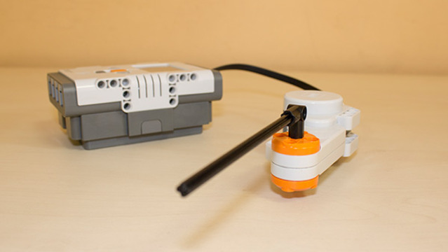 Image for Work of the LEGO Mindstorms NXT rotation sensor