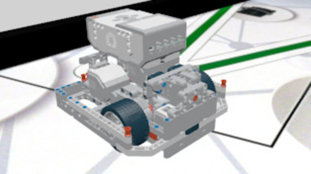 Image for EV3 Competition Robot Construction