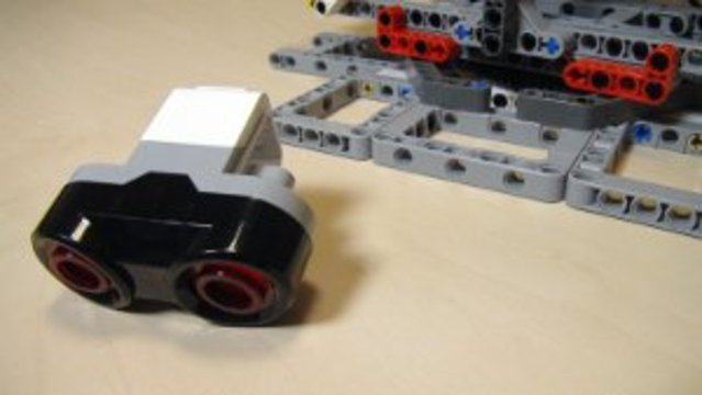 Preview for How to use the Ultrasonic Sensor with the Catapult built from EV3/NXT (Part 5)