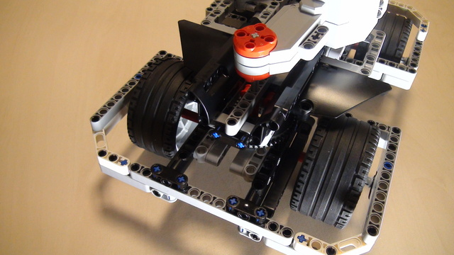 Image for Positioning motors on BigDaddy Competition Robot (Part 6)