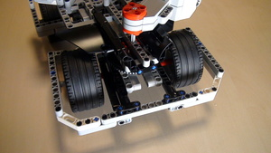 Image for Positioning motors on BigDaddy Competition Robot - second try