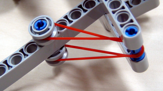 Image for Rubber Band Attachment for loops pushed to the border - FLL2012 Medicine