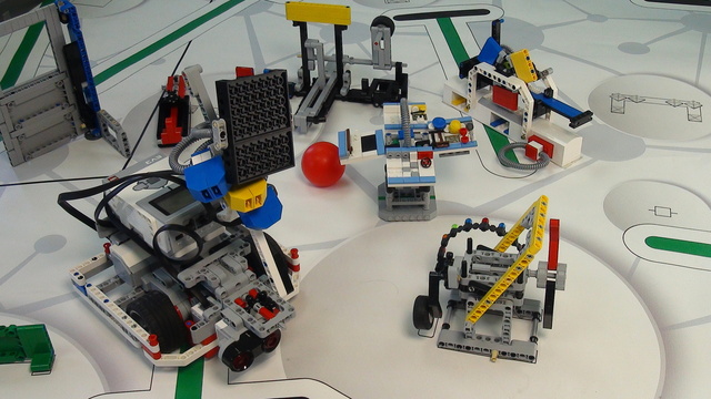 Image for One attachment for Solving FIRST LEGO League 2014 World Class missions
