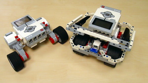 Image for EasyBot build with LEGO MindstormsEV3