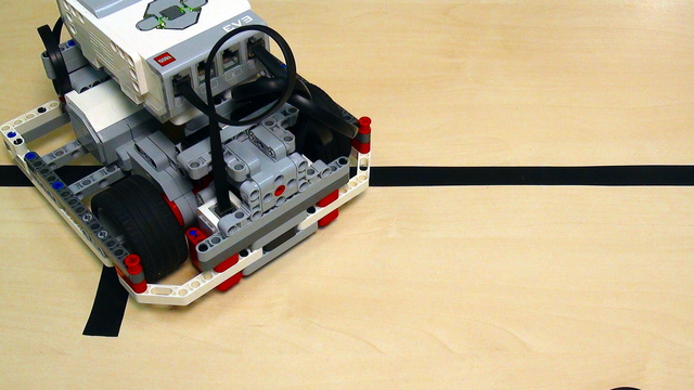 Image for Proportional Line Following with EV3 Mindstorms. Part 1