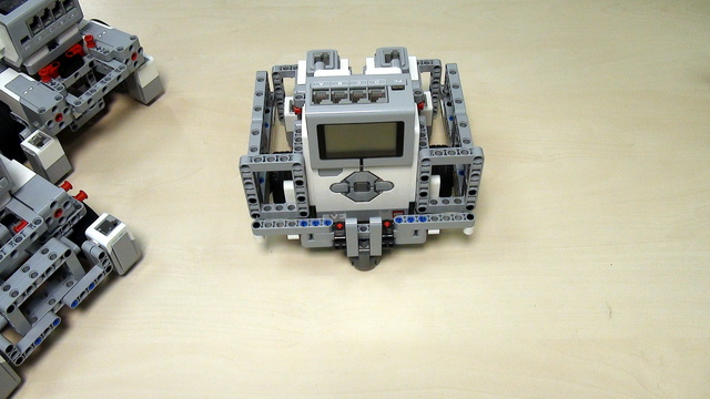 Image for Robot Design Ideas for Chassis with Mindstorms EV3. Base 3