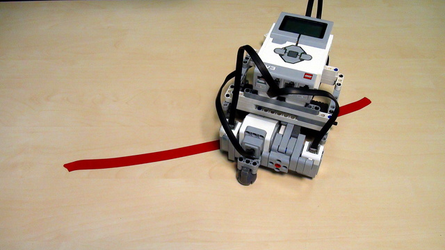 Image for EV3 Robot with Motors in Opposite Directions. The Frankenstein.