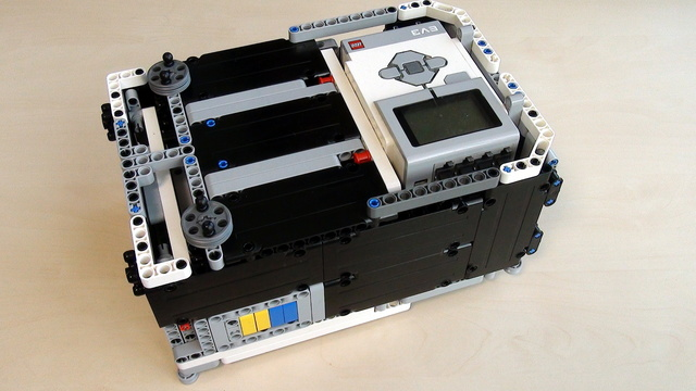Image for Box Robot for Robotics Competitions. Requirements for additional parts