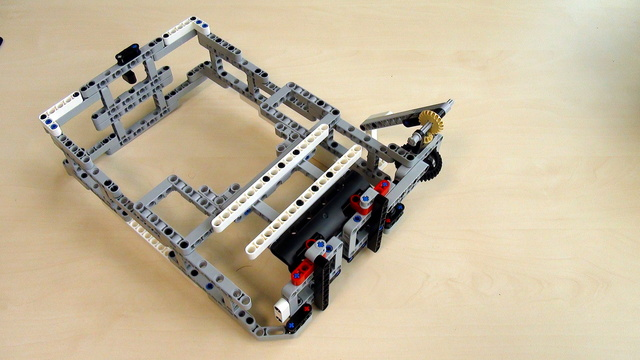 Image for Attachments for Box Robot for Robotics Competitions. Third way for adding Active attachment