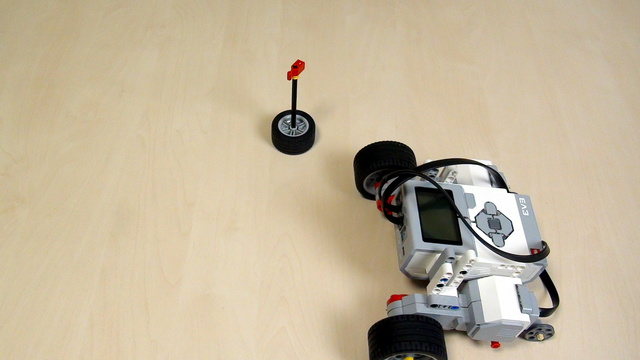 Image for EV3 Phi. Teacher Notes for turning around a pole