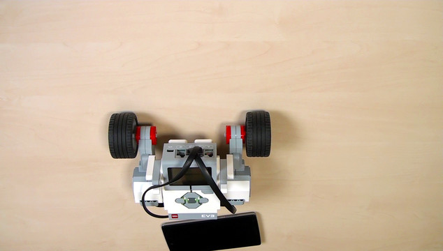 Image for EV3 Phi. Teacher note. Camera on wheels course section