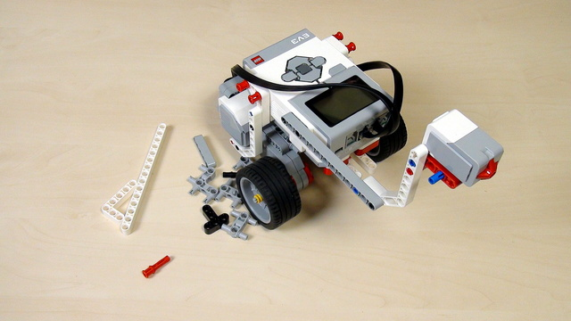 Image for EV3 Phi. Teacher Note. Add a touch sensor without instructions