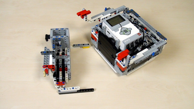 Image for Improving FLL Robot Game. Using a rack for Lifting.