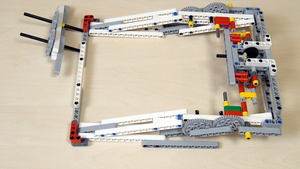 Image for Improving FLL Robot Game. Our solution to driving the gear mechanism