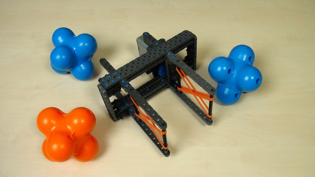 Image for VEX IQ Crossover. Attachment for grabbing a single Hexball