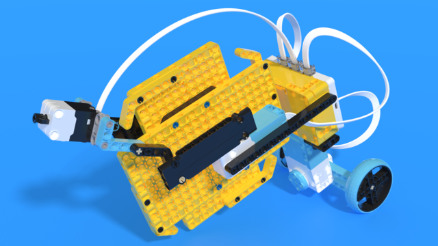 Image for Big Wheelster - LEGO SPIKE Prime robot