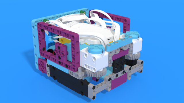 Image for Whakatae - SPIKE Prime Box robot