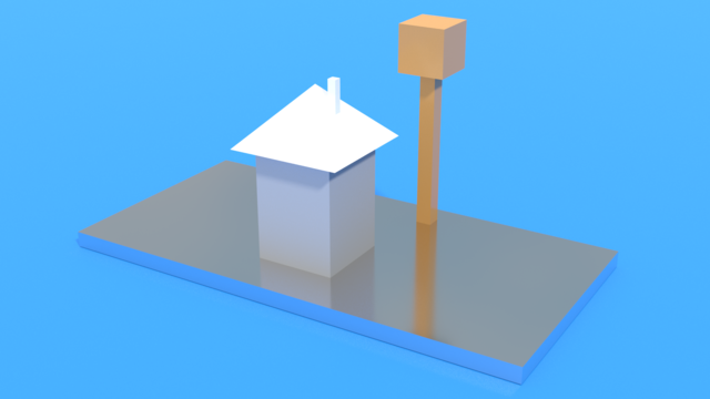 Image for Stepless house model from SolidWorks