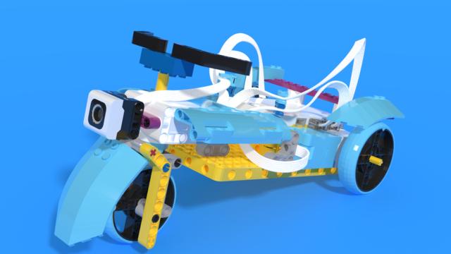 Image for Motorka - LEGO SPIKE Prime motorbike robot