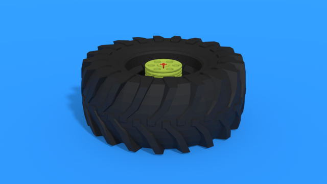Image for Bag 7 - Heavy Tire Flip - FIRST LEGO League 2020-2021 RePLAY