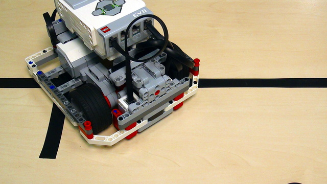 Image for Proportional Line Following with EV3 Mindstorms. Part 2