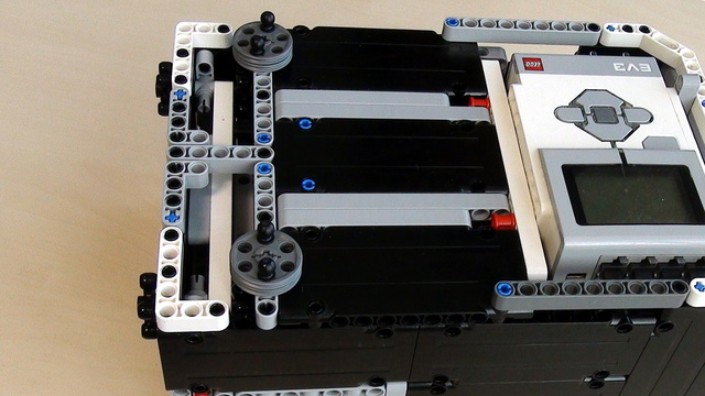 Image for Box Robot for Robotics Competitions. Align and Add attachments