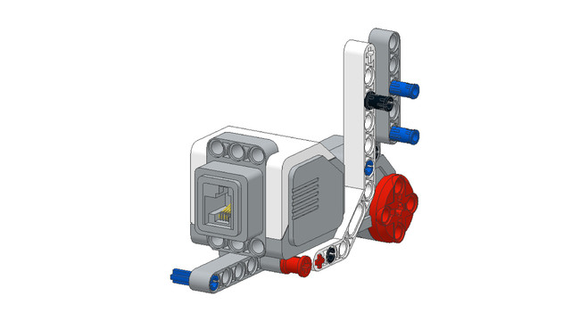 Image for EV3 Phi. Precautions when building LEGO robots from PDF instructions