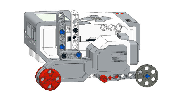 Image for EV3 Phi. Teacher Notes. Be careful while the students are following PDF instructions to build a LEGO robot