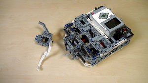 Image for Box Robot Two.Left side attachment with self-locking